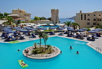 Отель IBEROSTAR LINDOS ROYAL(4*), фотография 02; Территория