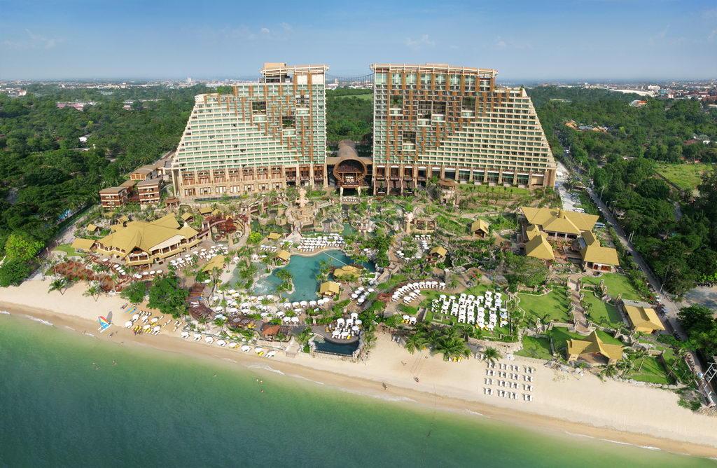 Centara Grand Mirage Beach 5* - один из лучших отелей Паттайи!