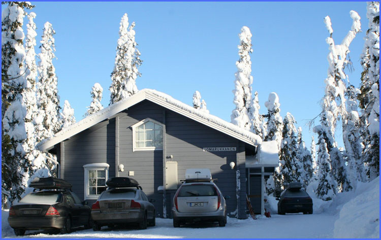 В финляндию на автомобиле на новый год