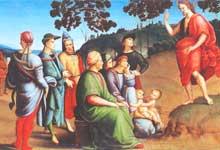 Туры в Лондон - Рафаэль. Проповедь Святого Иоанна Крестителя