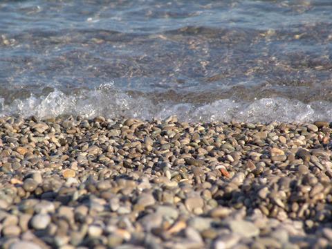 Галечный пляж Мисхора