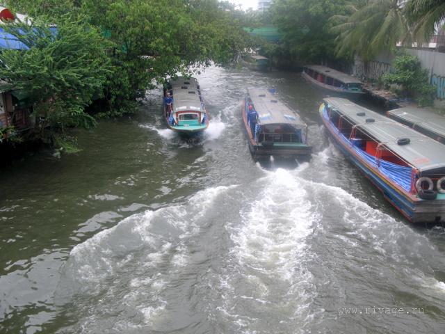 канал в Бангкоке